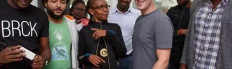 Mark Zuckerberg visits the Home of Mobile Banking-Kenya