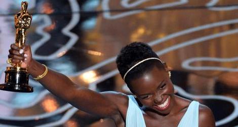 Lupita Nyong'o Wins an Oscars Award