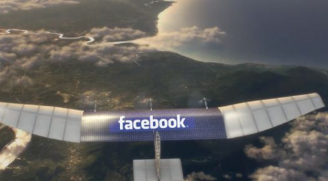 facebook connectivity-drone