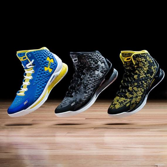 steph curry shoe line