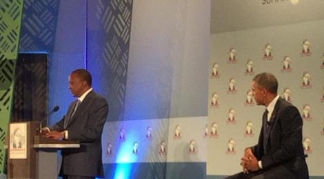 POTUS Mr. Obama and President Uhuru
