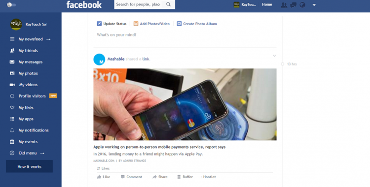 facebook-flat-extension