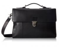Cole Haan Double Gusset Leather Brief $398