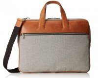 Jack Spade Oxford Leather Landon Travel brief $498
