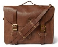 Jcrew Montague Distressed Leather Satchel $300