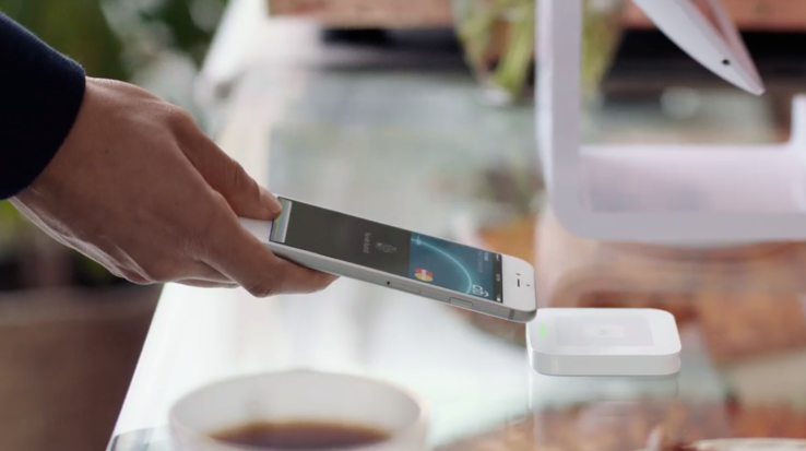 Square apple pay