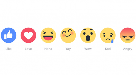 Facebook Rolls out New 'REACTIONS' Buttons