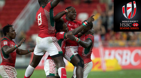 Powerful Kenyans capture the  HSBC 2016 Rugby Sevens Series in Singapore!