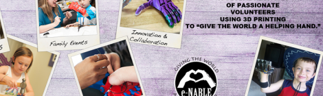Using 3D Printing to Give the World a 'Helping Hand'