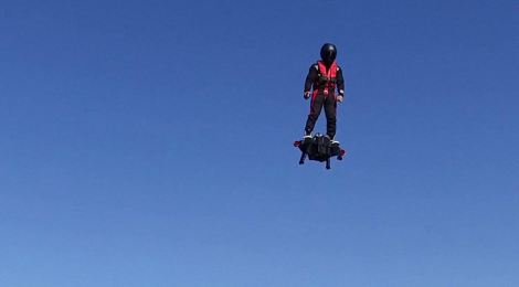 Flyboard® Air Farthest flight by hoverboard !