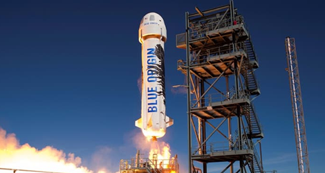 Blue Origin Re-usable Rocket