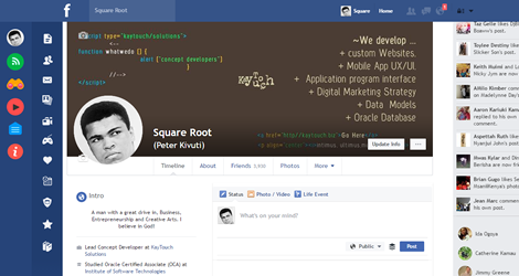 Cleans up Facebook's messy desktop interface with Flatbook Chrome extension