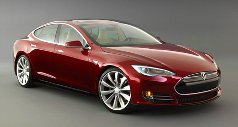 Tesla Model S can Float