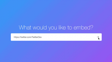 Twitter has made it easier to embed timelines in Websites