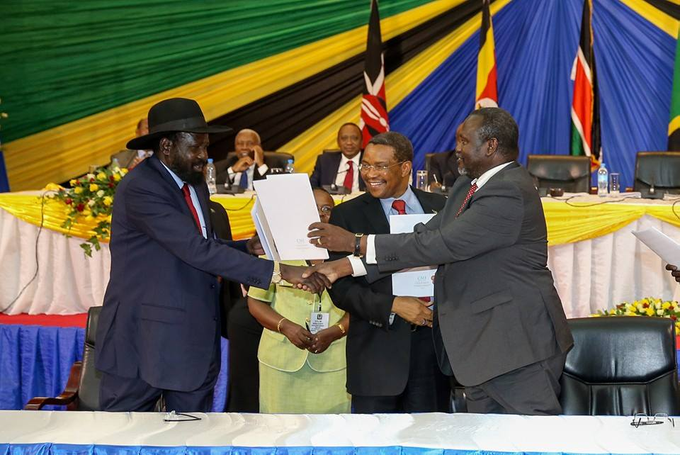 signing of the SPLM Reunification Agreement between South Sudan