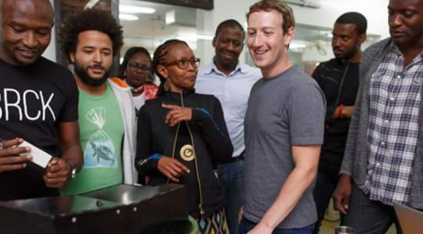 Mark Zuckerberg visits the Home of Mobile Banking-Kenya