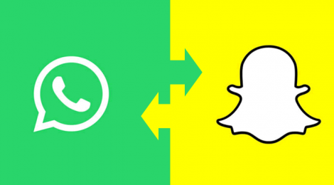 Whatsapp copies Snapchat