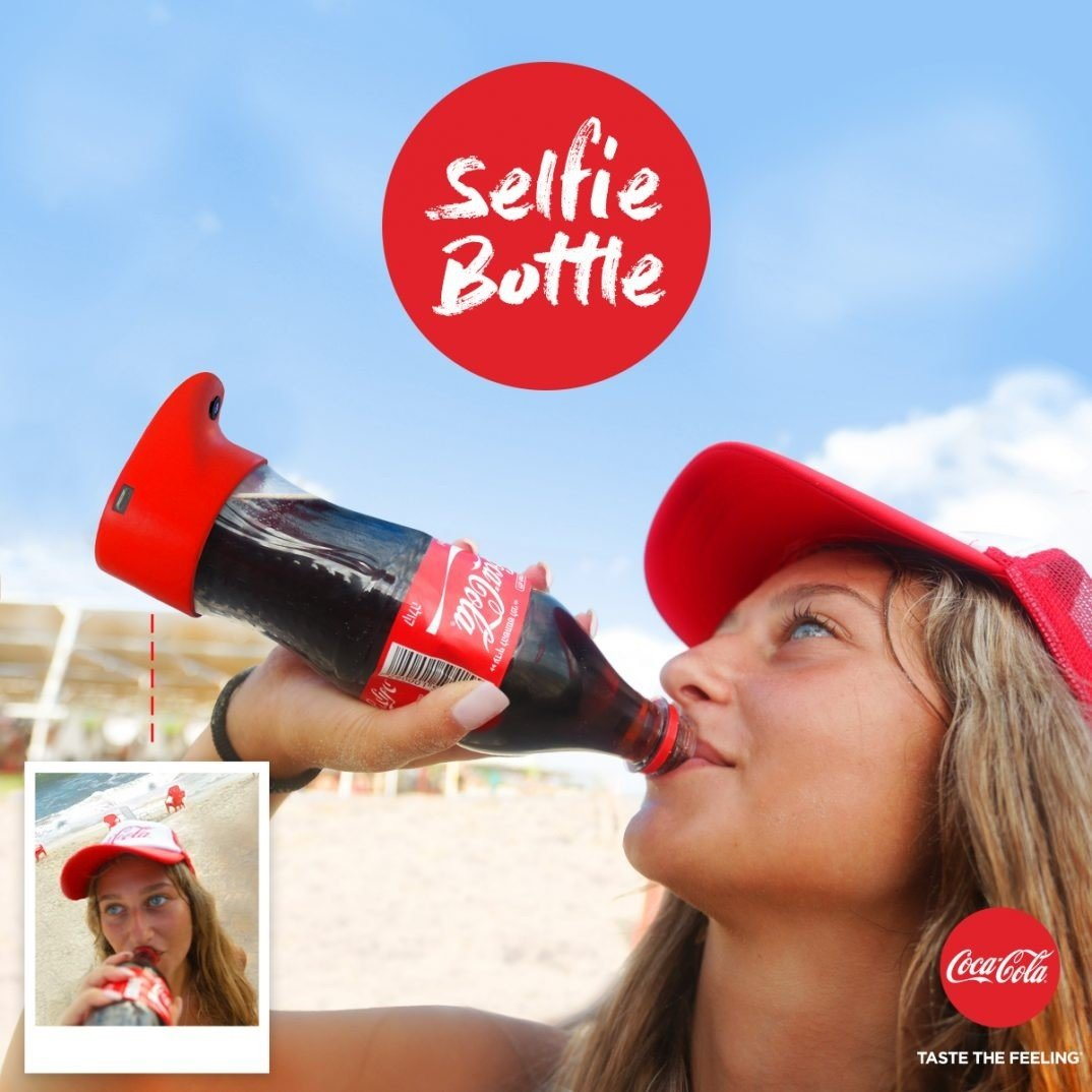 Coca Cola Selfie Bottle