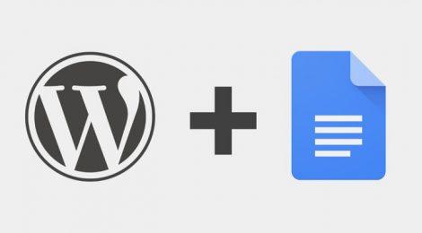 wordpress-google-docs