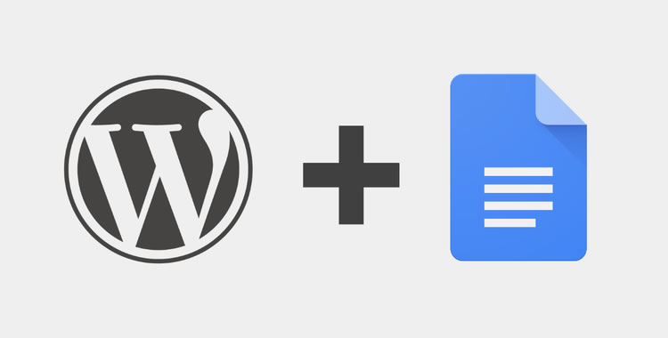 WordPress.com for Google Docs lets you edit in Docs and publish in WordPress