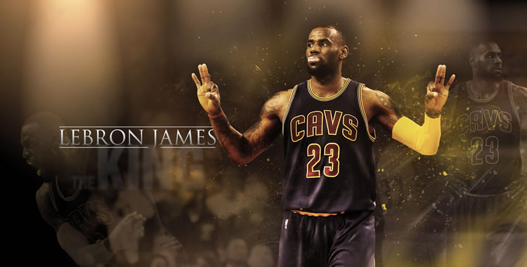 King James tops Michael Jordan as all-time playoffs scoring leader!
